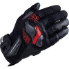 RST448BK04L アームドメッシュグローブ BLACK/RED L (レーシンググローブ)